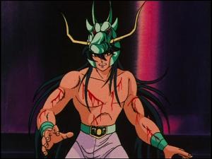 Sanctuaire :Shiryu et son casque