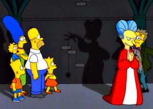 Dracula dans les Simpson