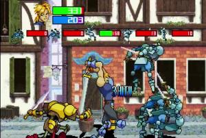 Guardian Heroes combat