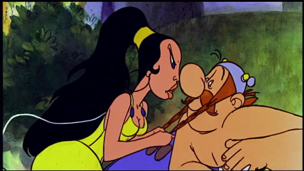 L'ile du plaisir sirène – les 12 travaux la grande prètresse et Obelix