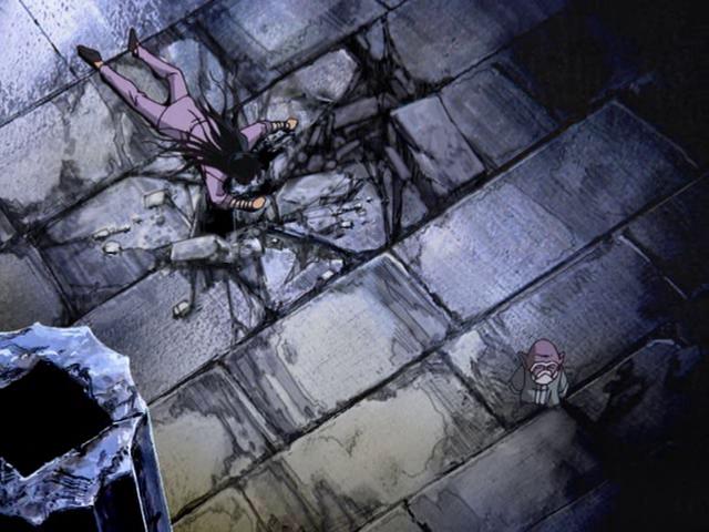 Shiryu abandonné par son maître